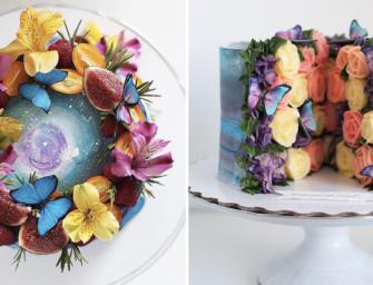 La pâtissière russe Yulia Kedyarova crée des gâteaux magnifiques