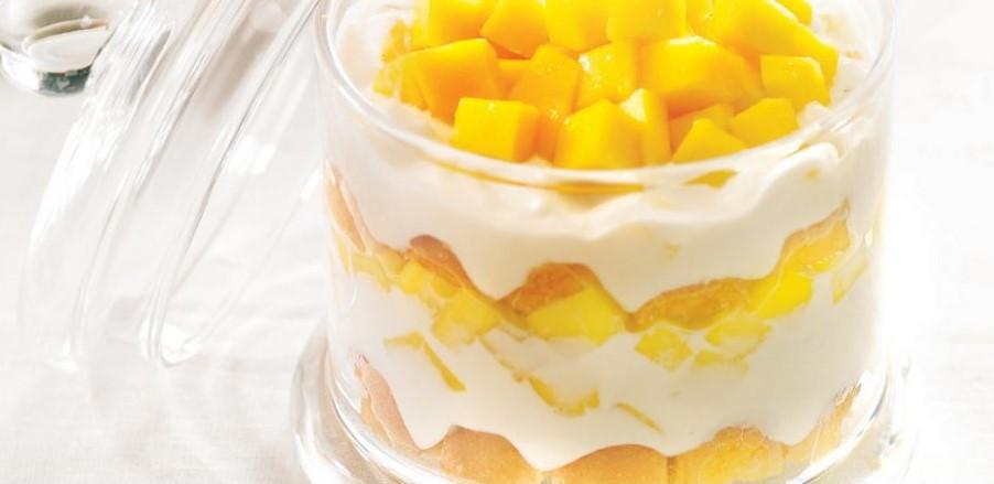 le trifle à la mangue