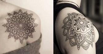 Le sens fascinant des tatouages mandala