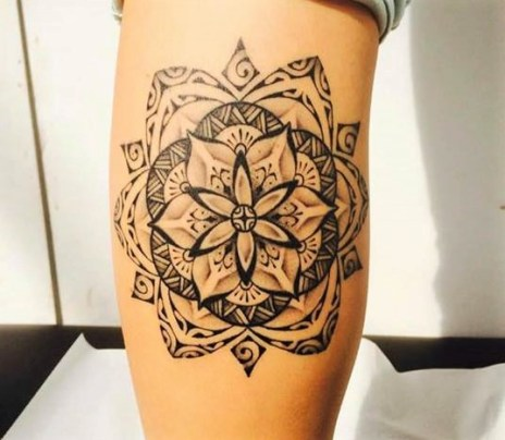Tatoo Mandala By Bam