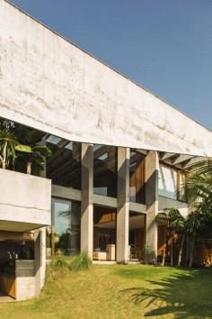 Brutalist Tropical House à Bali (10)