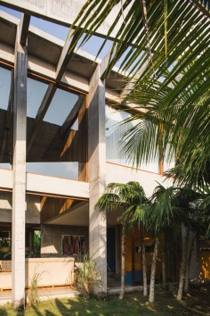 Brutalist Tropical House à Bali (5)