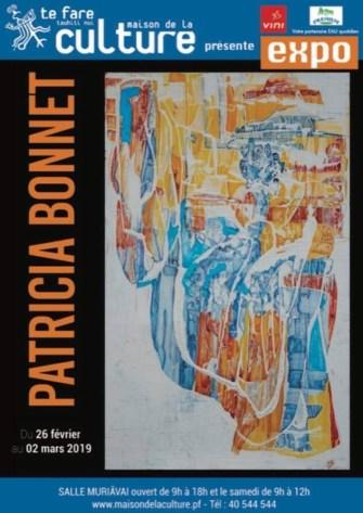 Patricia Bonnet expose à la maison de la culture