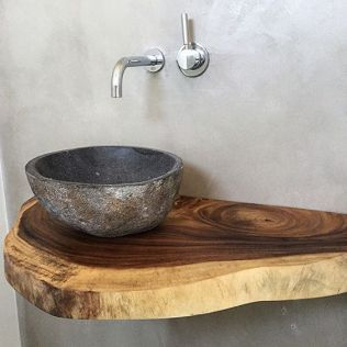 Salle de bain en béton et en bois (5)