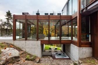Superbe maison au Québec par Yiacouvakis Hamelin architectes