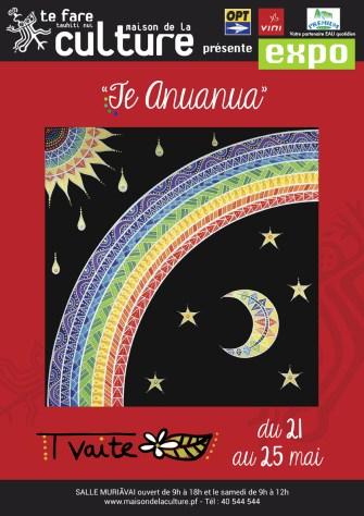 «Te Anuanua» : Tvaite expose à la Maison de la Culture