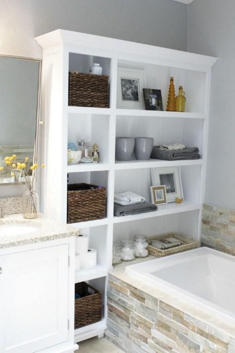 Des idées deco pour votre petite salle de bain (28)