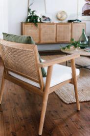 Les meubles en rotin, bambou tissés (11)