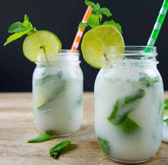 Mojito à l'eau de coco