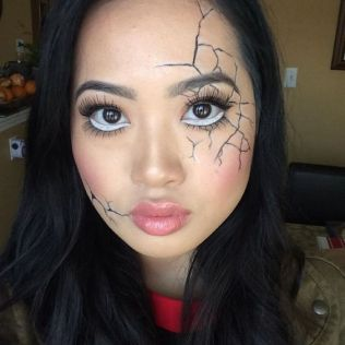 Halloween make up 2019 (15)
