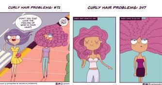 Angela Mary Vaz illustre à merveille la galère des cheveux frisés