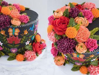 Les gâteaux fleuris de Leslie Vigil
