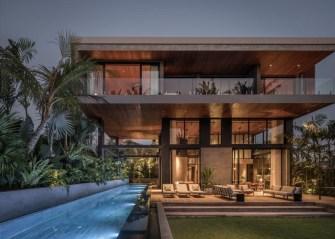 La maison sur la rivière conçue par Alexis Dornier à Bali