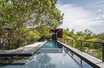 « Campinarana House » au Brésil par Laurent Troost Architectures