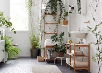 Faites entrer la nature dans votre salle de bain