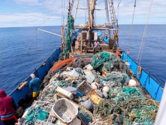 Le plus grand nettoyage de l'océan extrait 103 tonnes de plastique de l'océan Pacifique