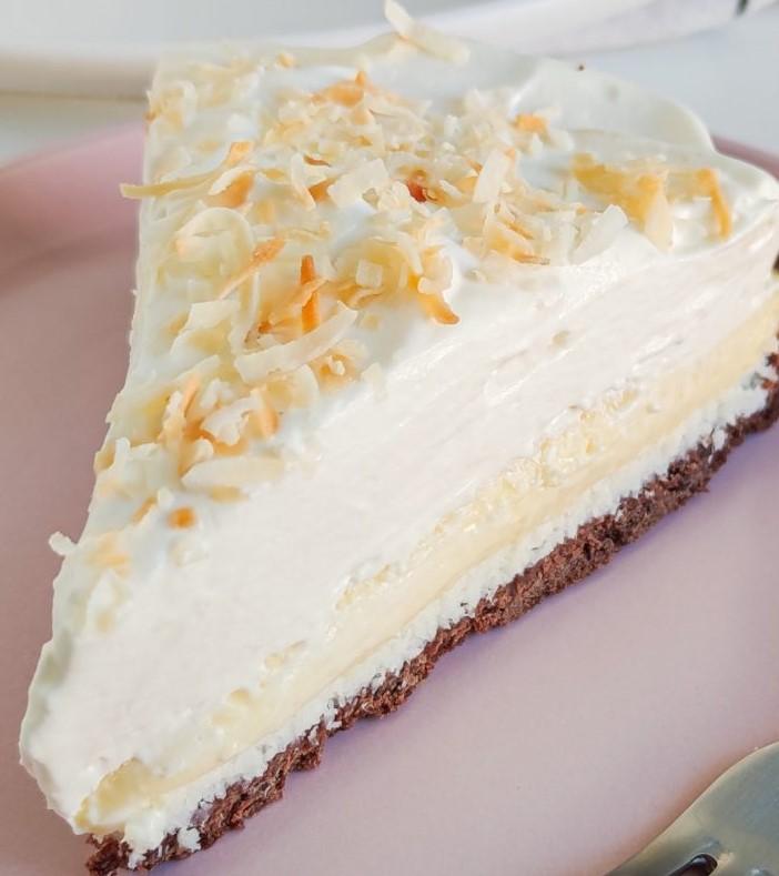 tarte coco à la crème