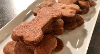 Des biscuits pour chiens