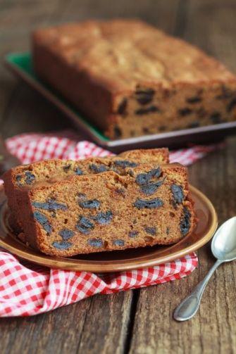 Le cake aux pruneaux