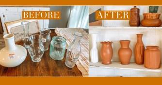 DIY : Les vases façon terre cuite