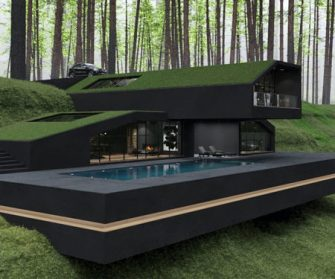 «Black Villa», une maison exceptionnelle