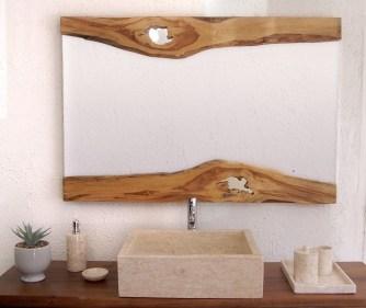Des miroirs en bois naturel !