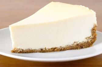 Le gâteau sans cuisson au mascarpone