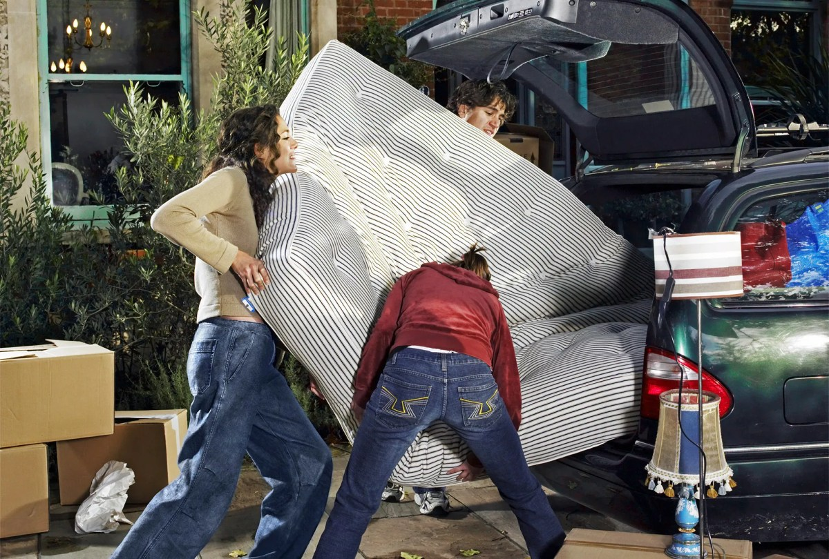hire movers or beg friends
