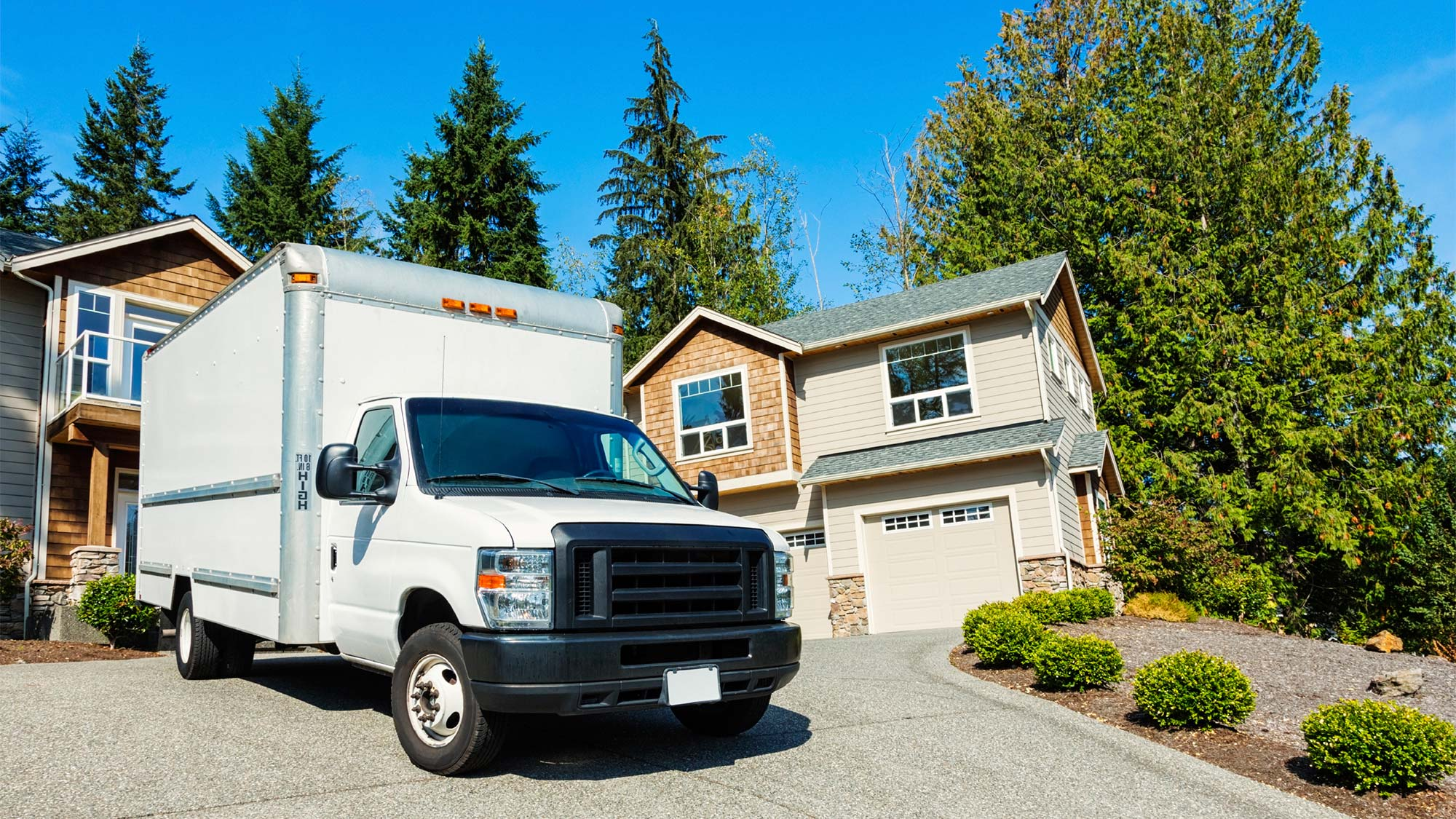 Rent a moving truck with unlimited mileage