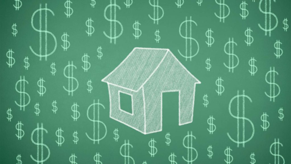 house dollar signs