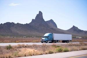 semi truck in arizona