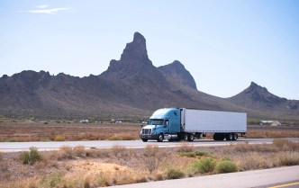 semi truck in arizona