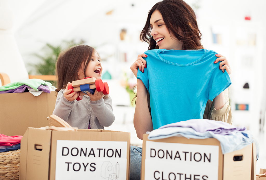 How to Organize Your Stuff for Donation Before You Move