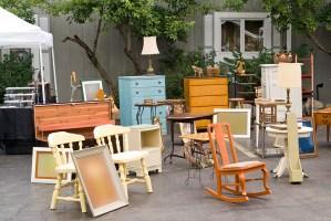 garage sale furniture