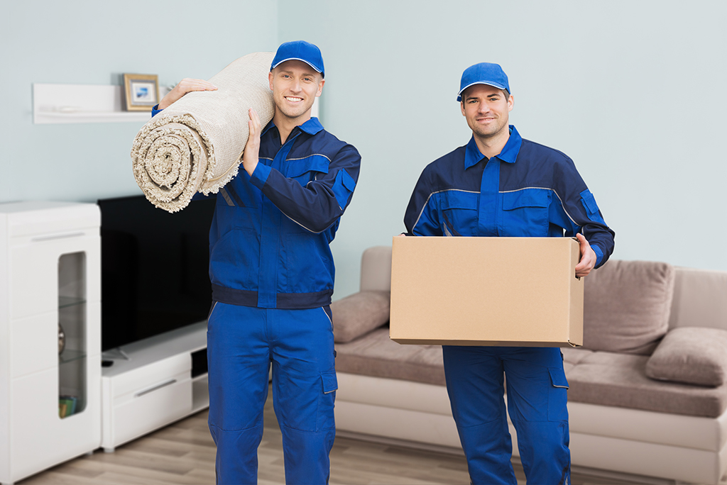 movers with rug