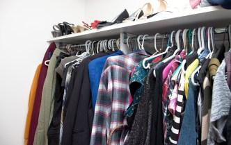 emptying a closet