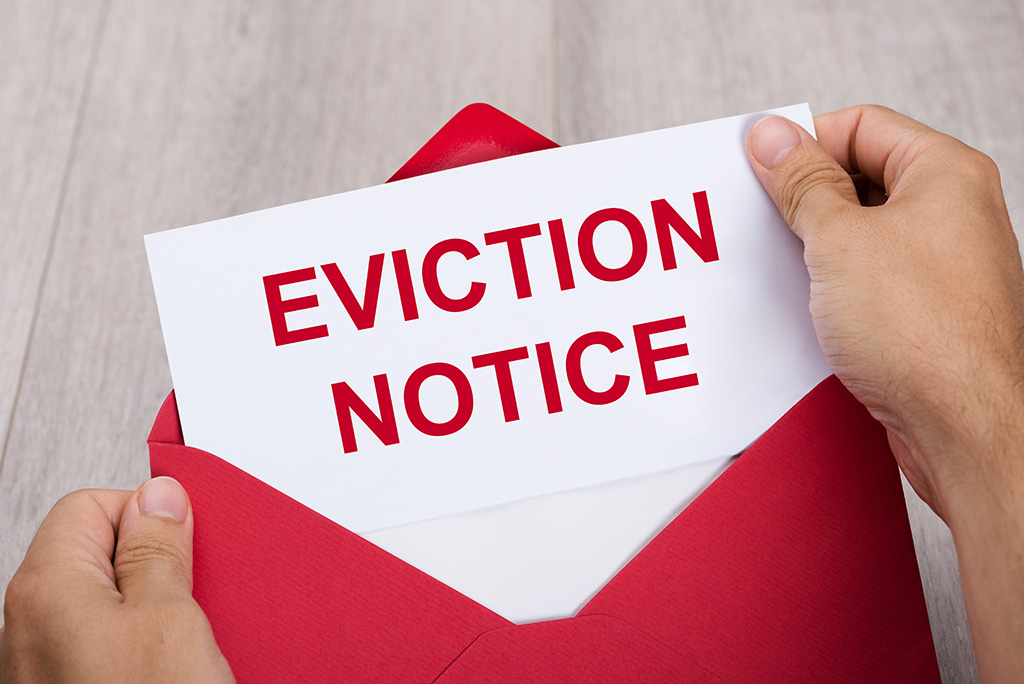 Got An Eviction Notice? Here's What To Do