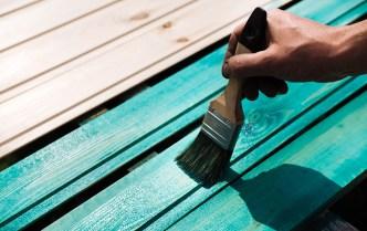blue deck paint