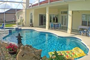 pool homes near walt disney world
