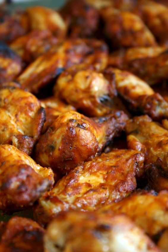 spicy chicken wings | movita beaucoup