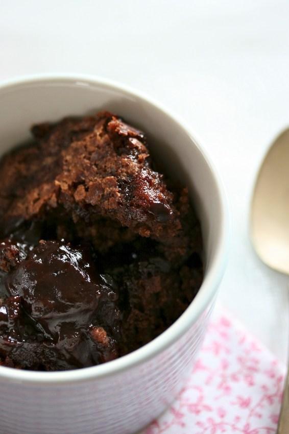 chocolate pudding {cake} | movita beaucoup