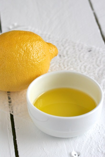 lemon and olive oil