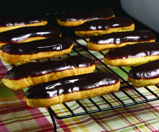 grace's éclairs - photo by liana massa langlois - grace's sweet life