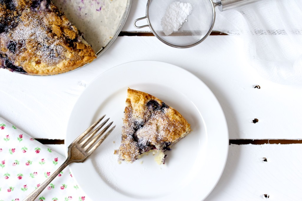 blueberry snacking cake | movita beaucoup