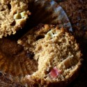 rhubarb muffins | movita beaucoup