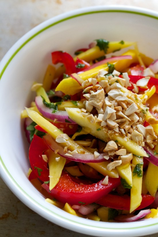 mango salad | movita beaucoup