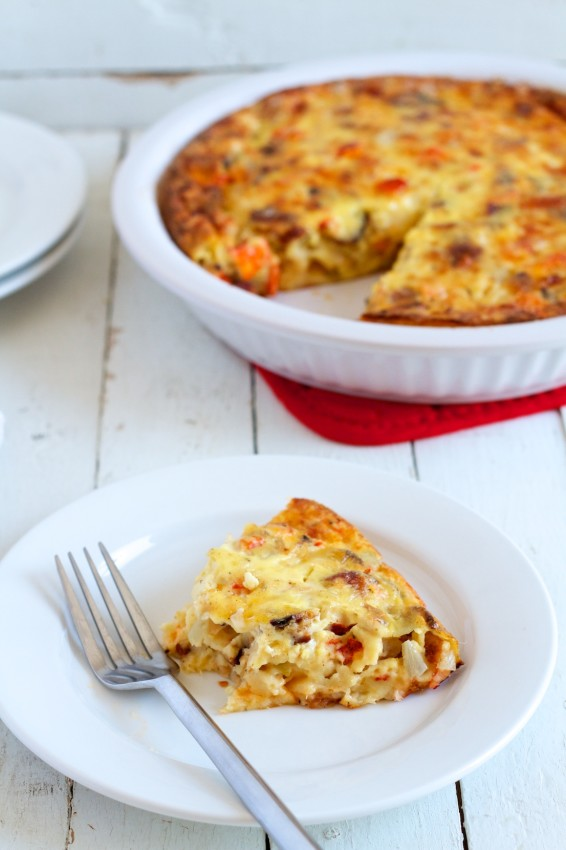 lobster bacon gruyere crustless quiche | movita beaucoup