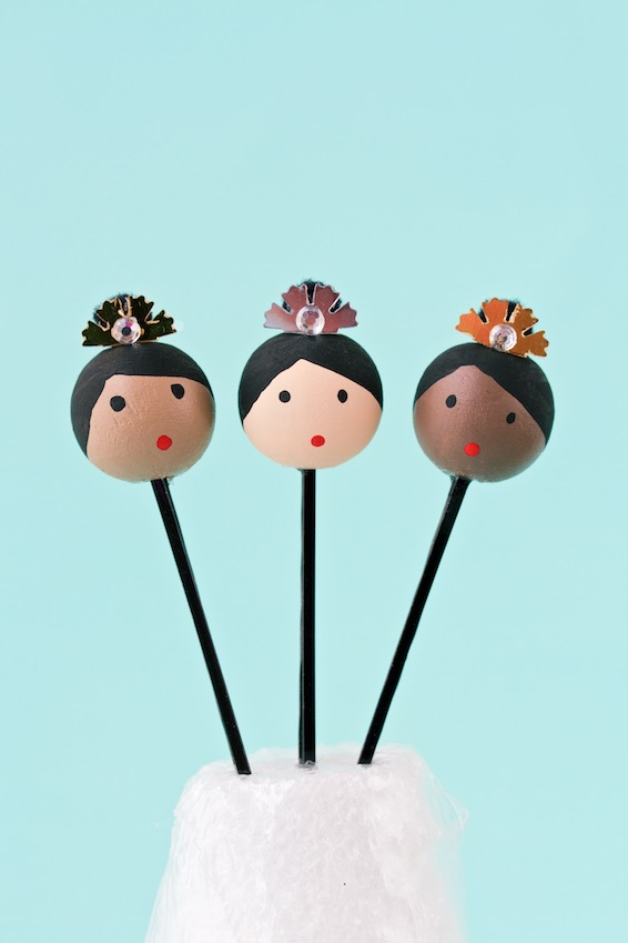 bunhead bobby pins | movita beaucoup - a simple tutorial for embellished bobby pins