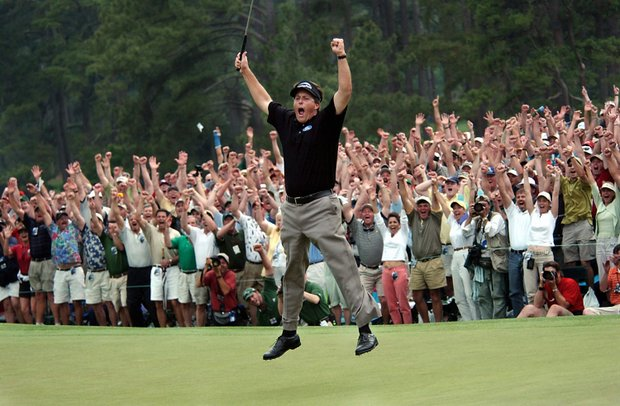 phil mickelson masters spread eagle