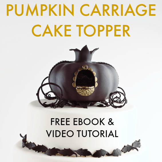 pumpkin carriage cake topper tutorial // movita beaucoup